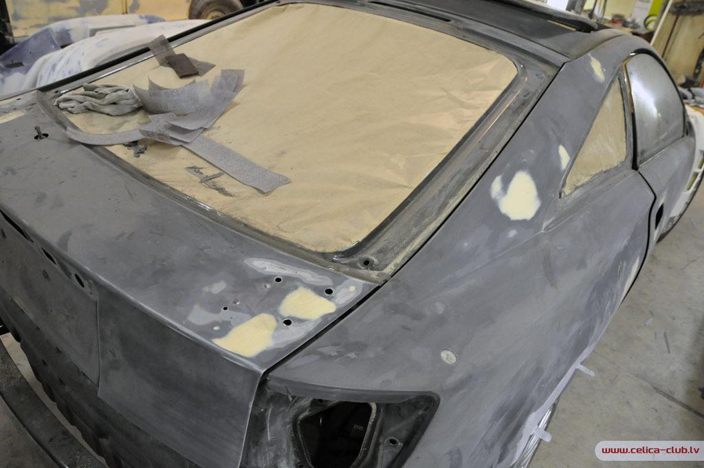 Готовим машину к покраске